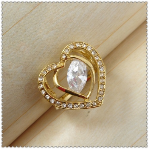 18k gold plated ring 1321029