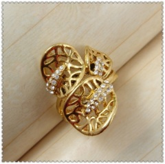 18k gold plated ring 1321056