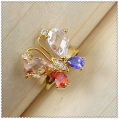 18k gold plated ring1321064