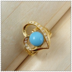 18K Jewelry Turquoise Rings 1321137