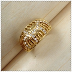 18k gold plated ring 1321145