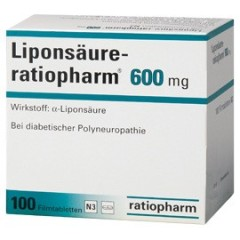 LIPONSAURE GERMANY- 10 x 600mg-FAT BURNING SOLUTION