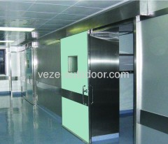 Hospital electric hermetic door