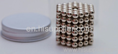 Magneic ball bearing toy