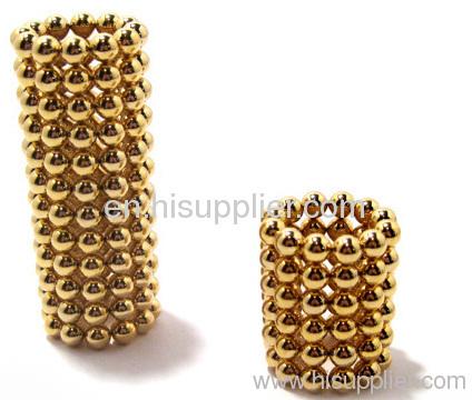 NdFeB Magnet balls(Gold)