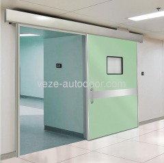 Hermetic hospital sliding door