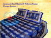 Jacquard Embroidery Bed Covers & Pillows, Bed Sheets
