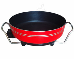 electric food warmer Color round pan
