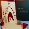 Wedding Day - Handmade 3D pop-up greeting card
