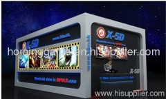 4D 5D 6D Motion theater