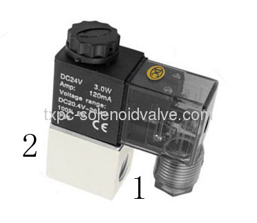 2 Position 2 Way Solenoid Valve Filtered Air