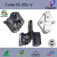VDE plug connectors