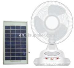 solar fan/solar rechargeable fan