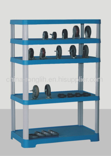 Five tier shelf