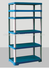 Six tier shelf