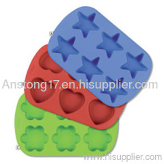 Silicone Bakeware 6 Cup Muffin Pan