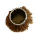 horse hair round strip brush
