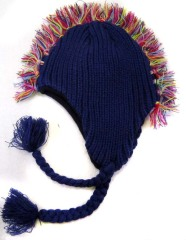 100% acrylic woven hat, measuring 30*23+25+5cm