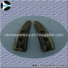 Horn overcoat Button