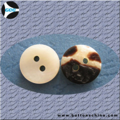 Shirt horn Button