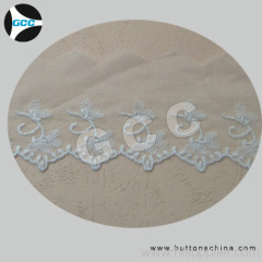 RAW CHEMICAL LACE FABRIC