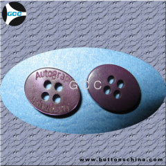 Purple Oval Button 4 hole for fashion shirt