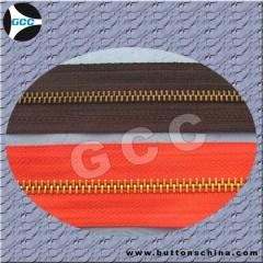 Metal zipper chain