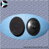 Plastic feet Cover Fabric Button