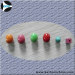 COLOR WOOD BEADS BUTTON