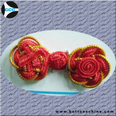 Red Color Twist buttons