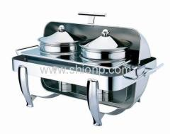 Rectangle soup station with T handle