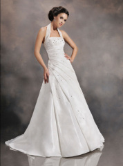 nice quality customize wedding dress 2013