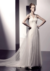 luxurious wedding gown