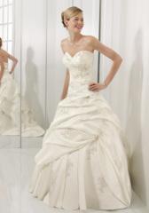 nice quality wedding dress 2013