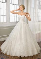 taffeta Classic Bridal Dress