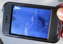 Handheld Infrared Document Detector