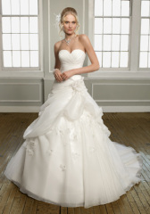 Classic bridal gown