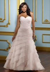 Best chiffon Plus Size Wedding dress