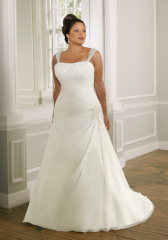 Classic sexy Plus Size Wedding dress