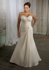 Classic Plus Size Wedding dress
