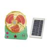 solar powered table fan