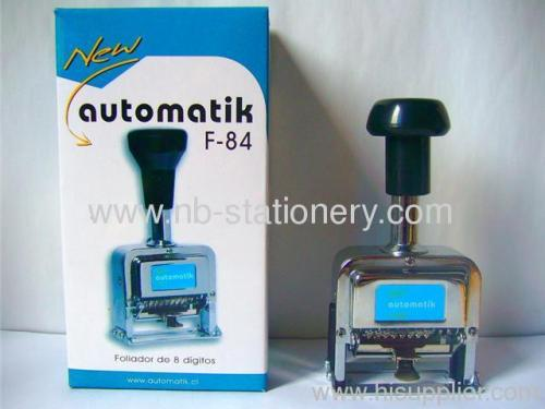 8 Digits Automatic Numbering Machine Manufacturers And