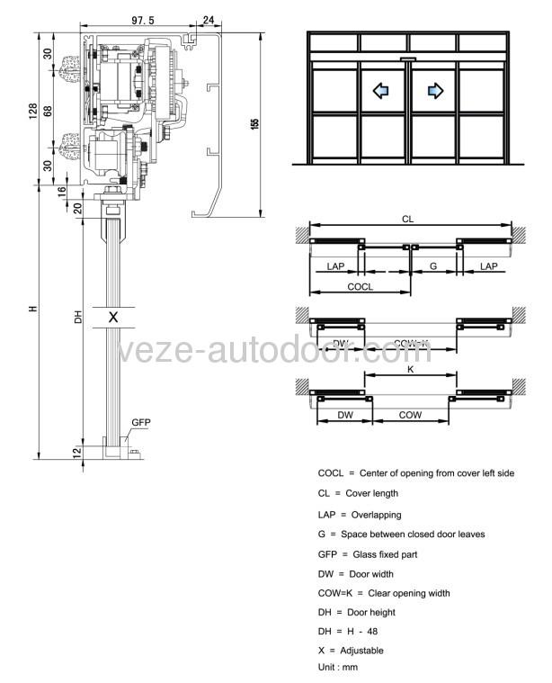 6 picture of auto slide door opener