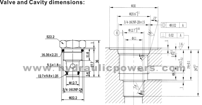 how to show the oil holes in engineering drawing