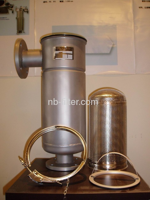 Stainless Steel Liquid Eco It Bag Filter Housings