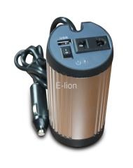 150W cylinder USB power inverter
