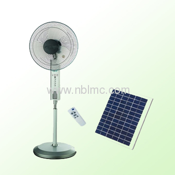 solar power fan