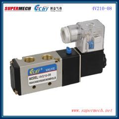 4V210-08 AIRTAC type solenoid control valve DC 24V