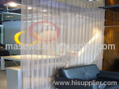 Decorative metal screen metal curtain