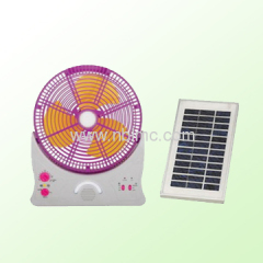 solar operated fan